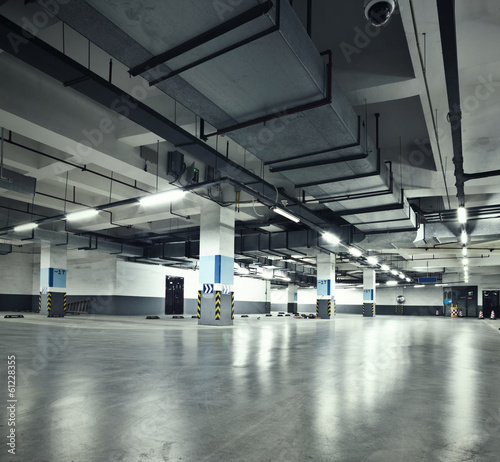garaż parkingowy