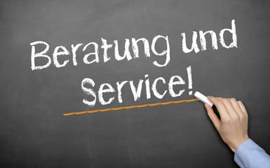 Beratung u. Service