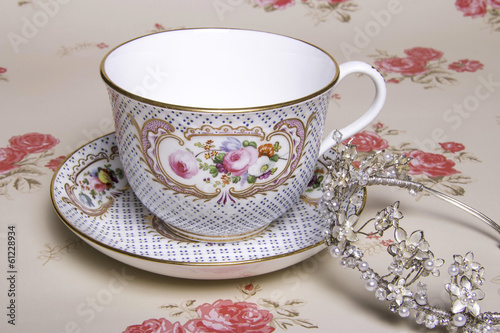 China Tea Cup and Tiara