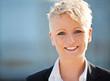 Portrait einer attraktiven Geschäftsfrau