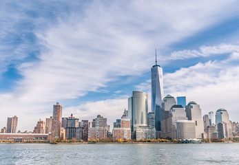 New York City - Manhattan skyline from a different point of View