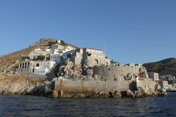 Griechenland Hydra Festung