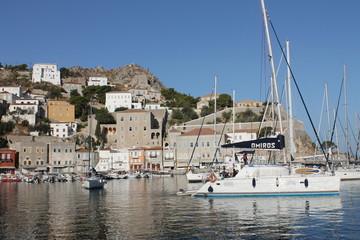 Griechenland Hydra Hafen