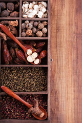Authentic collection Chinese spices