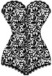 vintage corset - 61236338