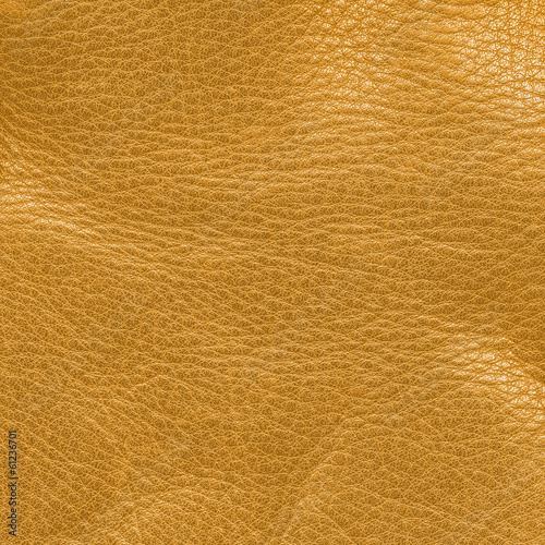 crumpled yellow leather texture