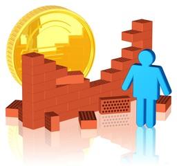 neue Einnahmequelle entdecken, Geld verstecken