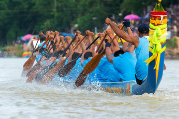 Long boat racing