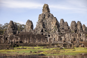 Bayon Temple at Angkor Thom