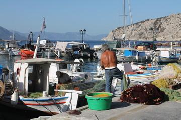 Griechenland Perdika Fischer