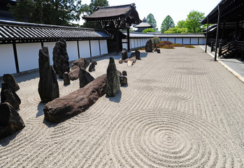 Temple Tōfuku-ji-The garden of Hojo-1