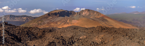 Panoramic View of Mount Teide