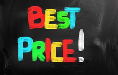 Best Price Concept
