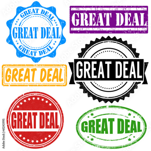 Great deal stamp set