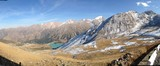 big almaty lake panorama
