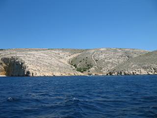 costa di stara baska isola di krk croazia