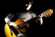 Guitar player Acoustic guitarist