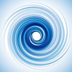 Vector Blue Vortex background