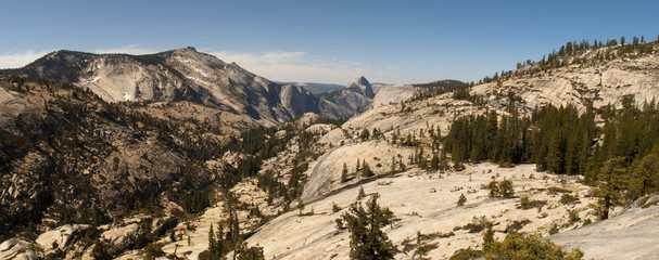 Yosemite National Park - Olmsted Point Panorama