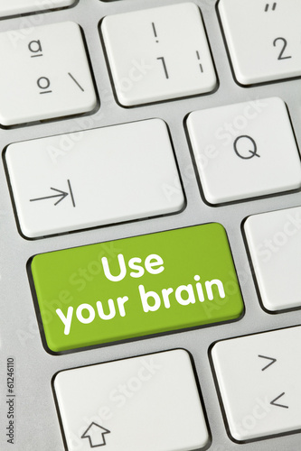 Use your brain. Keyboard