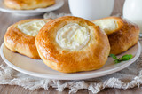 Buns with cottage cheese