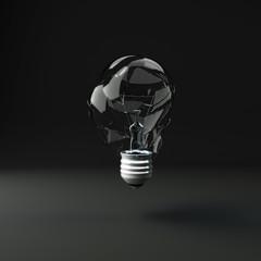 Glühbirne, Crash, Öko, Bruch