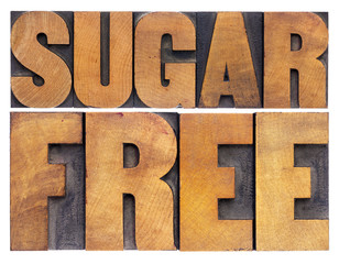 sugar free in wood type