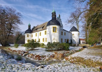 Sallgast Schloss im Winter - Sallgast palace in winter 01