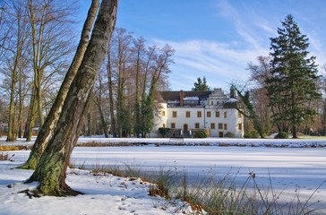 Sallgast Schloss im Winter - Sallgast palace in winter 02
