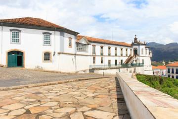 View of city Ouro Preto, Brazil