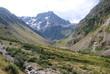 berglandschap in de Franse alpen