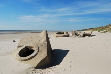 Restanten bunker WO II