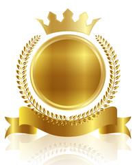 メダル フレーム 王冠