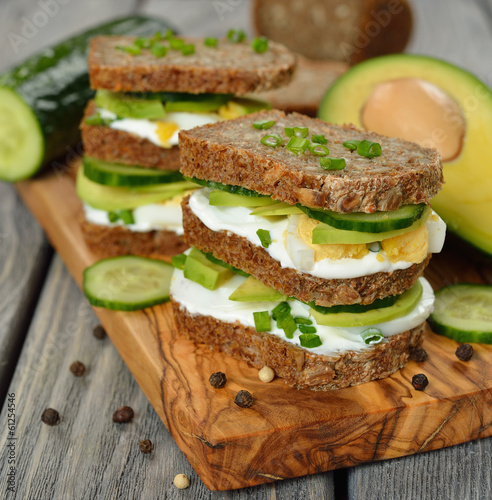 Dietetic sandwich