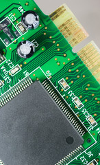 Computer Component Circuit Board Memory Processor Network Card