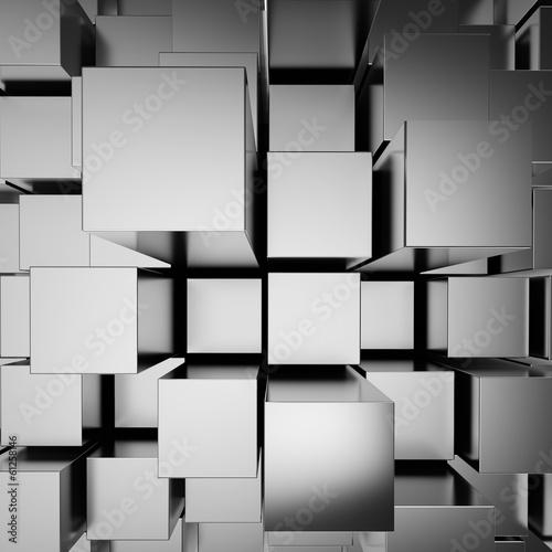 3d-abstrakcjonistyczny-chrom-blokuje-tlo