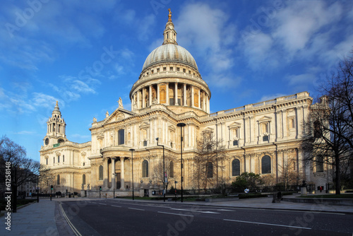 St Pauls Cathedral in London.