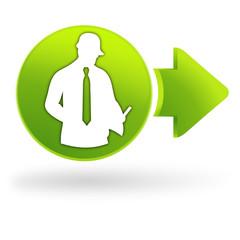faire un devis sur symbole web vert