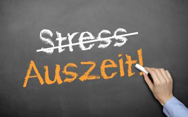 Stress u. Auszeit