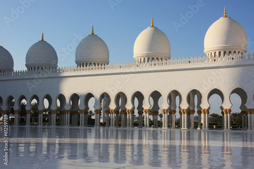 Schah Zayed Grand Moschee in Abu Dhabi