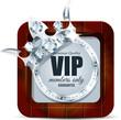 VIP wood icon