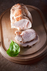 Pastrami of turkey breast