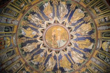 Battistero Neoniano, ceiling mosaics