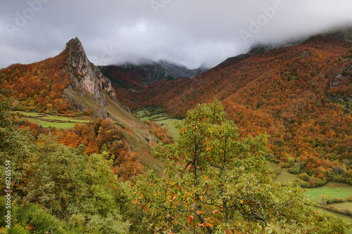 Somiedo natural park in Asturias, spain