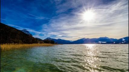 TL - Sonnenlicht über Tegernsee