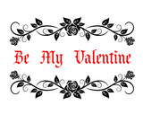 Be My Valentine header