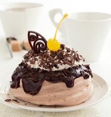 "Chocolate Cake ""Pavlova"""