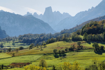 Naranjo de Bulnes (known as Picu Urriellu) in Asturias, Spain