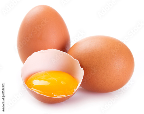 Deurstickers Egg Eggs