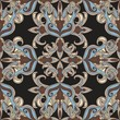 Damask  floral seamless pattern